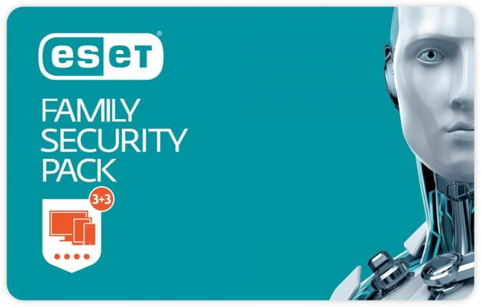ESET Family Security Pack 3 lic. 12 měs.